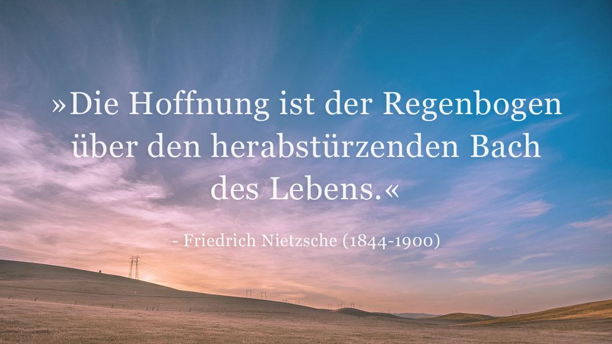 Trauerspruch » Friedrich Wilhelm Nietzsche